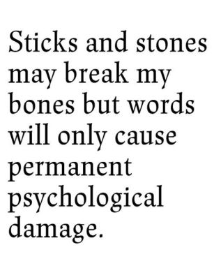 sticks ans stones